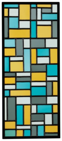 Stained-Glass Composition VIII