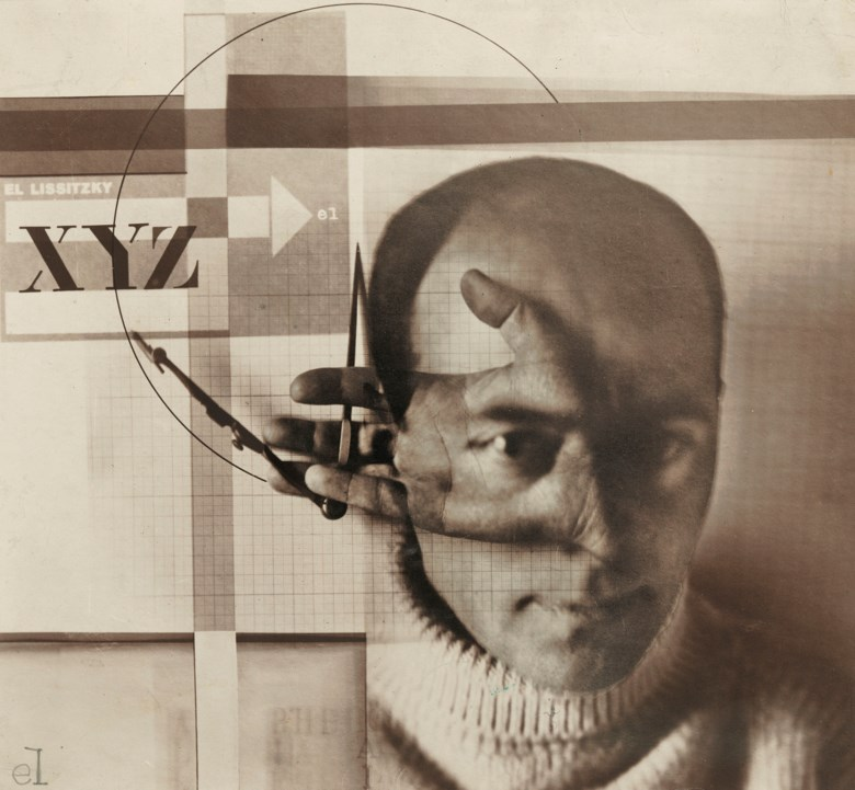El Lissitzky (1890-1941), Self-Portrait ('The Constructor'), This print made in 1924, the same year as the original collage executed. The original collage in the collection of the State Tretyakov Gallery, Moscow. Sold for £947,250 on 6 March 2019 at Christie's in London