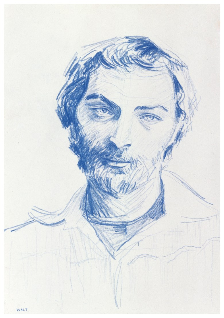 Elizabeth Peyton (b. 1965), Walt, executed in 2003. Coloured pencil on paper. 8⅝ x 6 in (21.9 x 15.2 cm). Estimate £30,000-40,000. This lot is offered in Post-War and Contemporary Art Day Auction on 7 March 2019 at Christie's in London