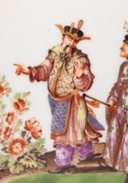 A MEISSEN (AUGUSTUS REX) PORCE