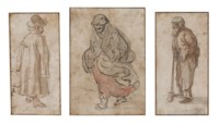 Three figure studies
