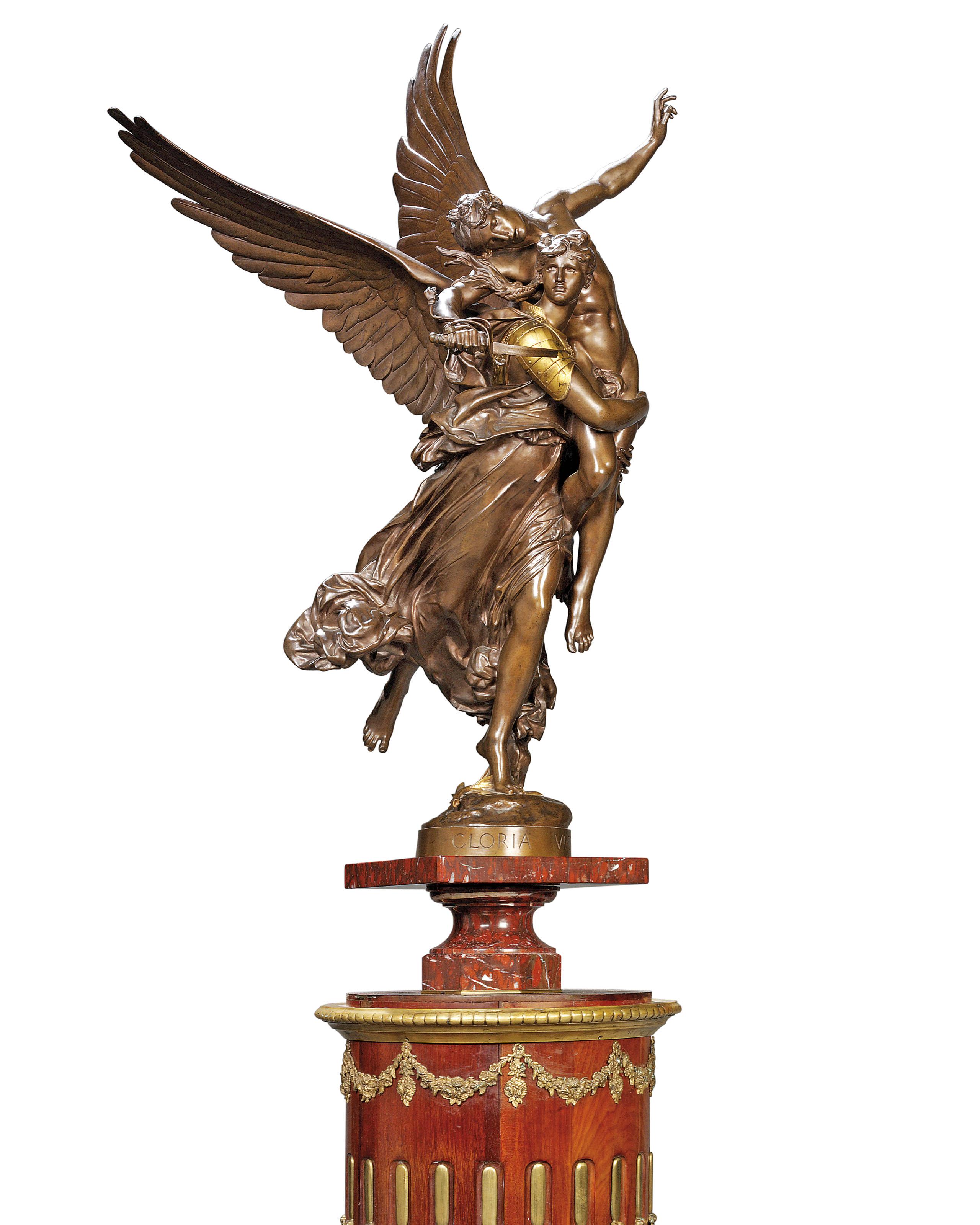 Gloria Victis (sculpture) - Wikipedia