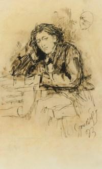 The composer Anton Rubinstein (1829-1894)
