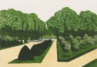 Versailles; Eight views of St Petersburg and Four landscapes