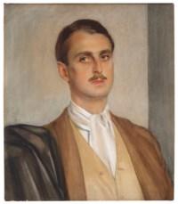 Portrait of Prince Serge Obolensky (1890-1978)