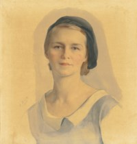 Portrait of Maria Chaliapin née Bobrik (1901-1988)