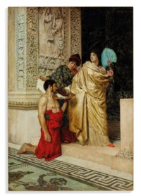 Salome receiving the head of John the Baptist