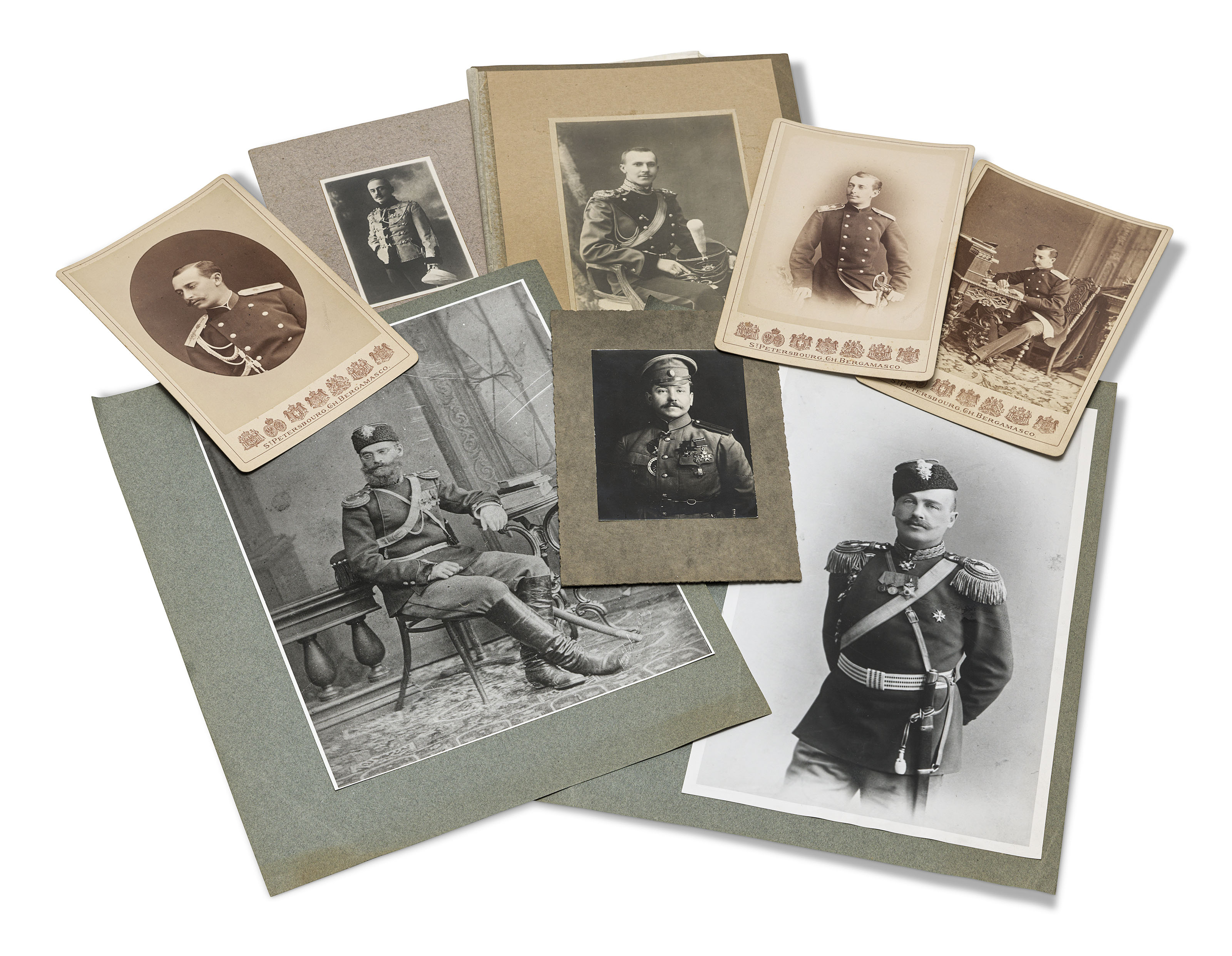 A GROUP OF RUSSIAN MILITARY PHOTOGRAPHS