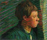 Breton Boy in Profile