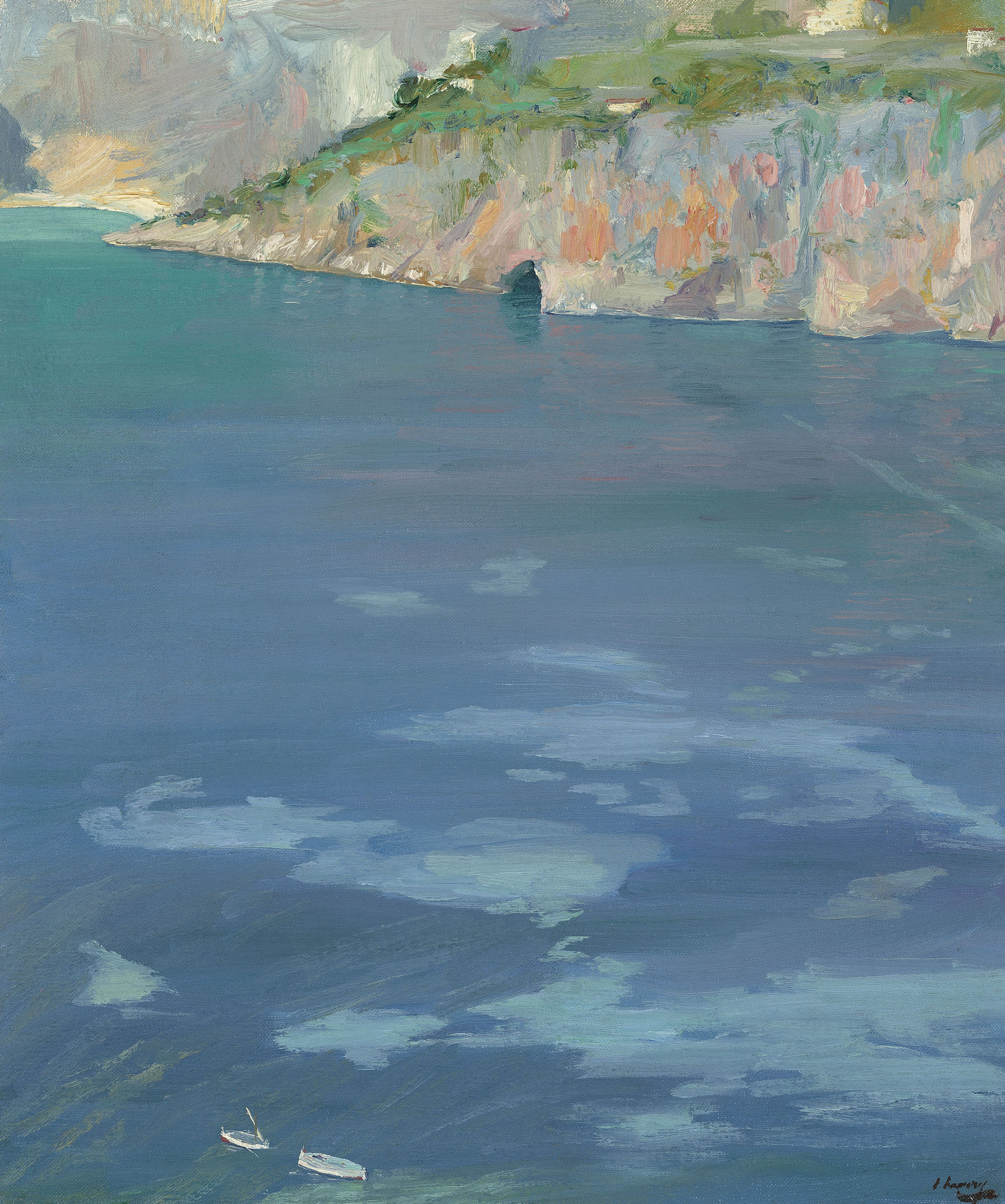 On the Riviera J Lavery Print