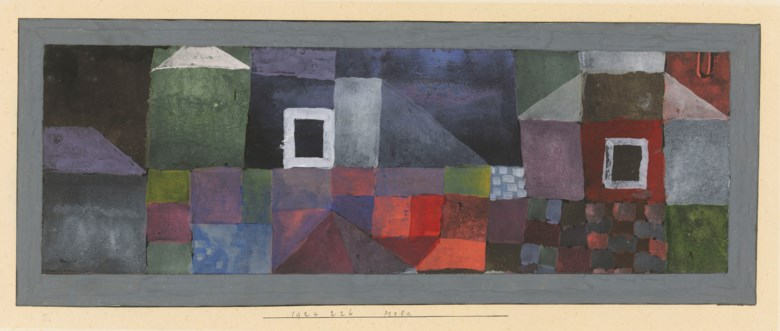 Paul Klee (1879-1940), Mola, 1924. Watercolour. Card 7½ x 15¾  in (18.9 x 39.8  cm). Estimate £200,000-300,000. Offered in Impressionist and Modern Works on Paper on 19 June 2019 at Christie's in London