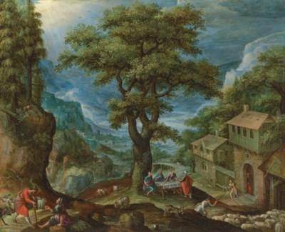 Marten van Valckenborch I (Leu