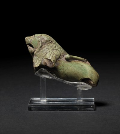 A FRAGMENTARY EGYPTIAN GREEN F