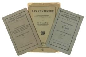 [EINSTEIN, Albert (1879-1955)]. Three scientific text books