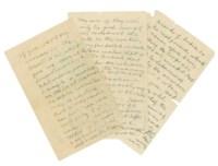 GANDHI, Mohandas Karamchand (1869-1948). Autograph manuscript, n.p., n.d. [c.1944-45]