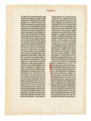 BIBLIA LATINA. [Mainz: Johann