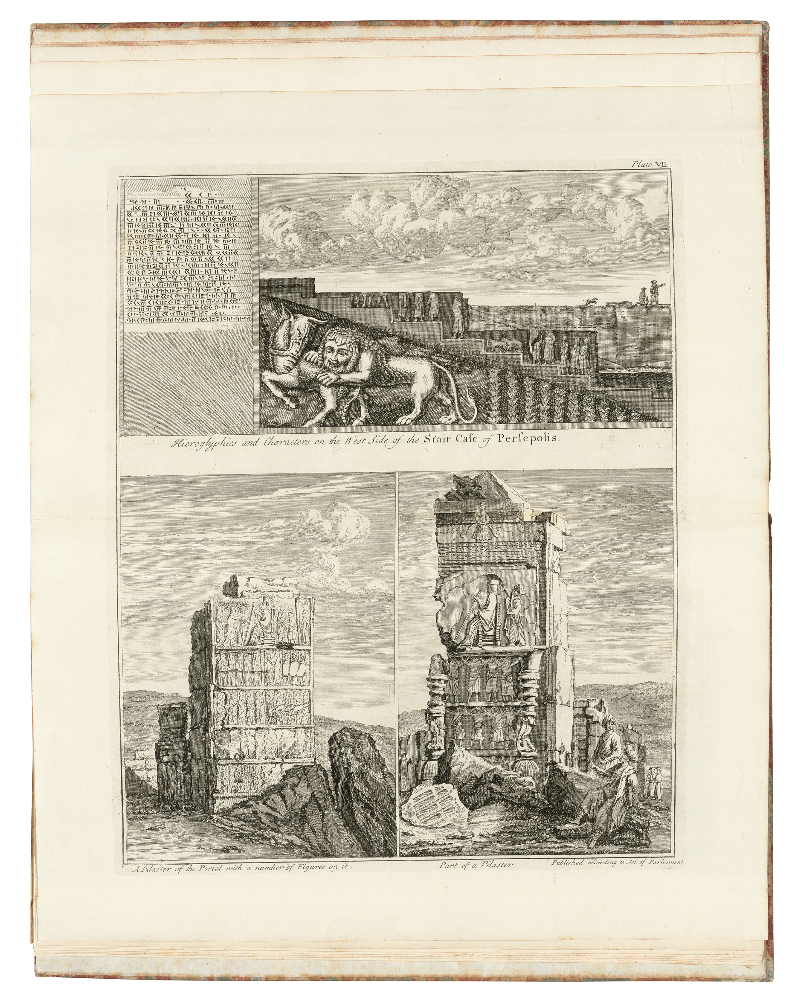 Persepolis Illustrata Or The Ancient And Royal Palace Of Persepolis In Persia London S Harding 1739 Books Manuscripts Printed Books Christie S