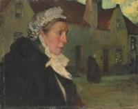 A Dutch fisher woman