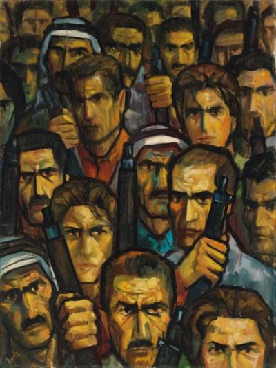 Ismail Shammout (Palestinian,