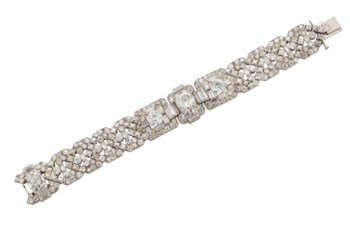 FINE ART DÉCO DIAMOND BRACELET