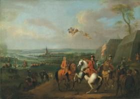 Circle of Jan Wyck (Haarlem 1652-1700 Mortlake)