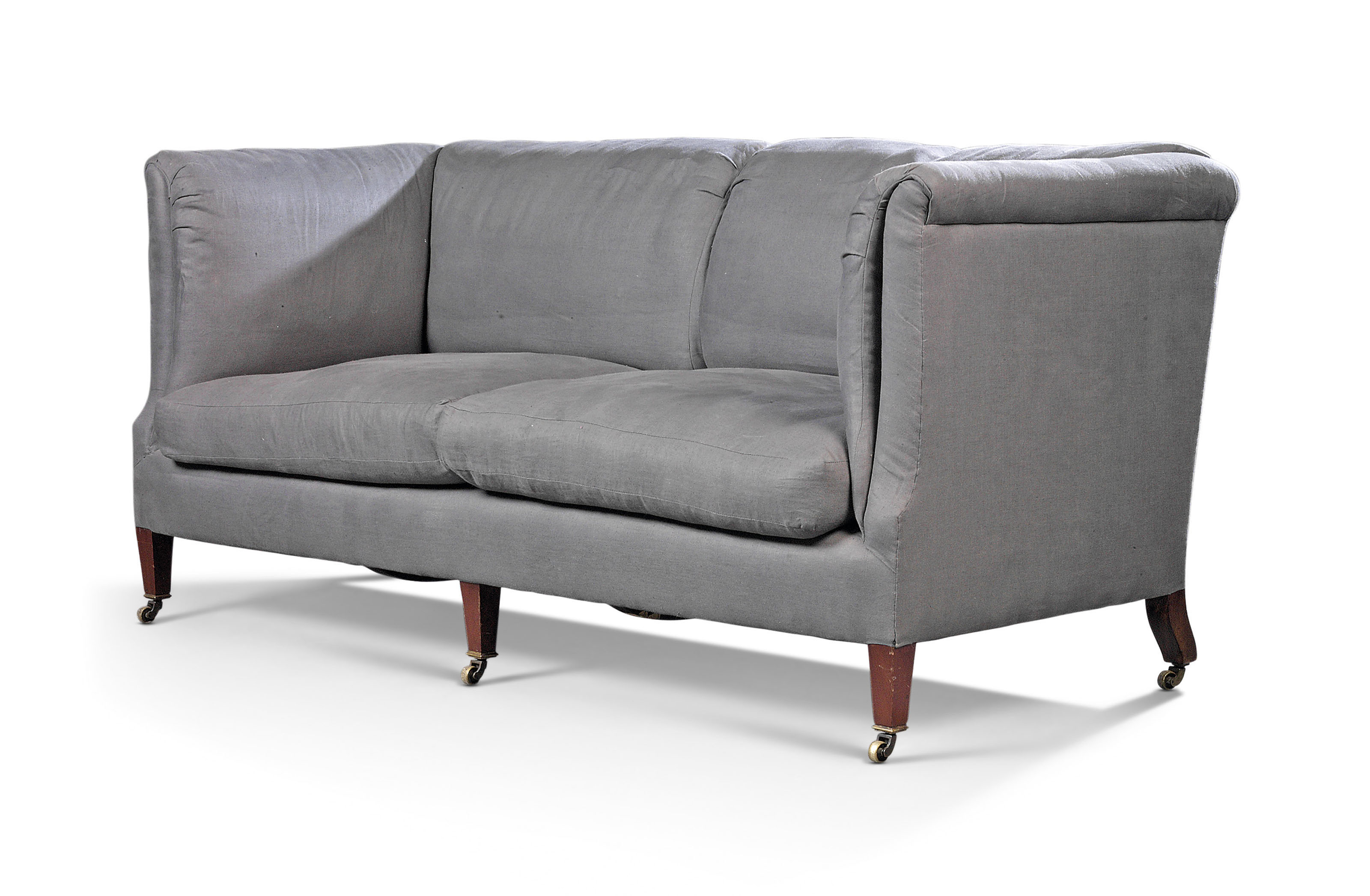 Sensational An English Upholstered Baring Sofa By Howard And Sons Machost Co Dining Chair Design Ideas Machostcouk