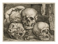Child with three Skulls