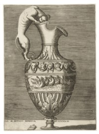 Ewer with a Handle fashioned as a Dog