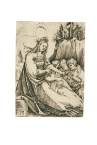 The Virgin with the Child on an Altar ('The beautiful Virgin of Regensburg')