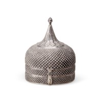 AN INDIAN SILVER SPICE OR PAND