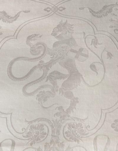 Ten Italian linen tablecloths,