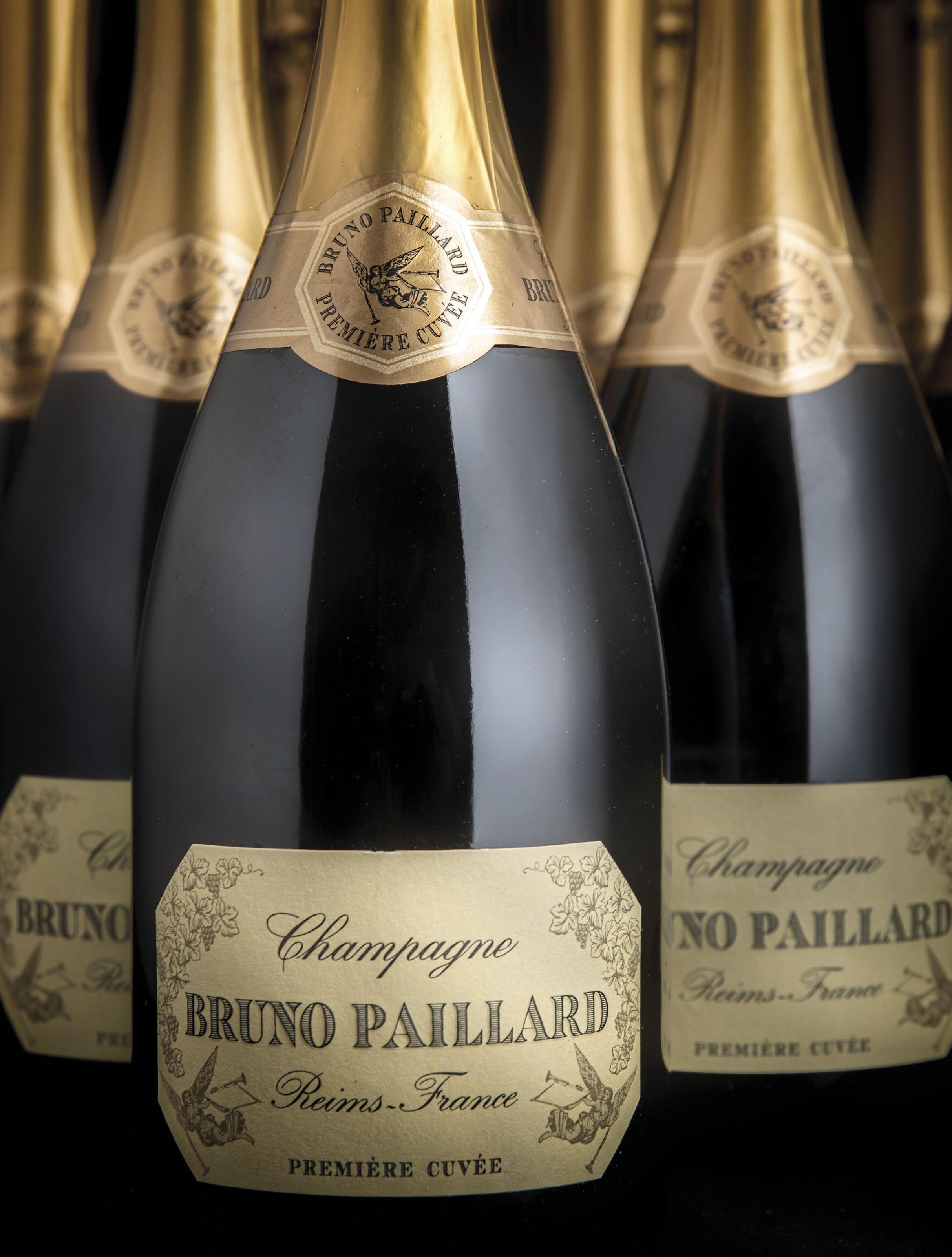 Bruno Paillard Première Cuvée  Twelve disgorged bottles November 2016  (1) February 2014  (1) July 2012  (1) February 2010  (1) July 2008  (1) January 2006  (1) October 2004  (1) February 2002  (1) April 2000  (1) September 1998  (1) March 1996  (1) September 1994  (1)