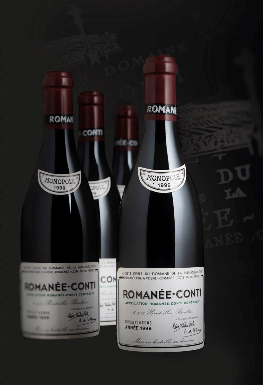 Domaine de la Romanée-Conti, Romanée-Conti 1999, 6 bottles per lot.In original wooden  case. Estimate £70,000-110,000. Offered in Fine & Rare Wines on 17 October 2019 at Christie's in London