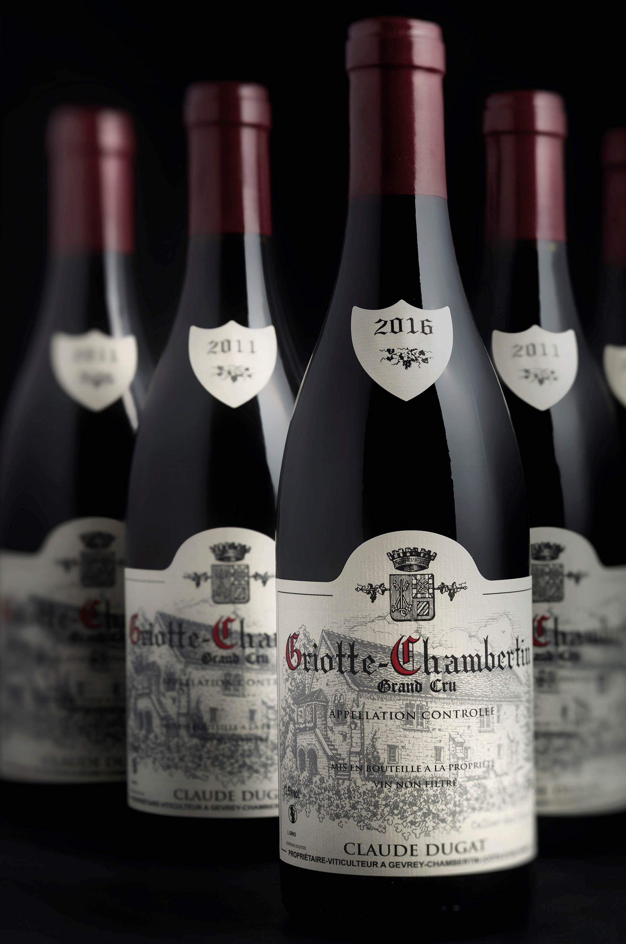 Claude Dugat, Griotte-Chambertin 2011 (4) 2016 (1)