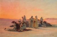 Prayer in the desert