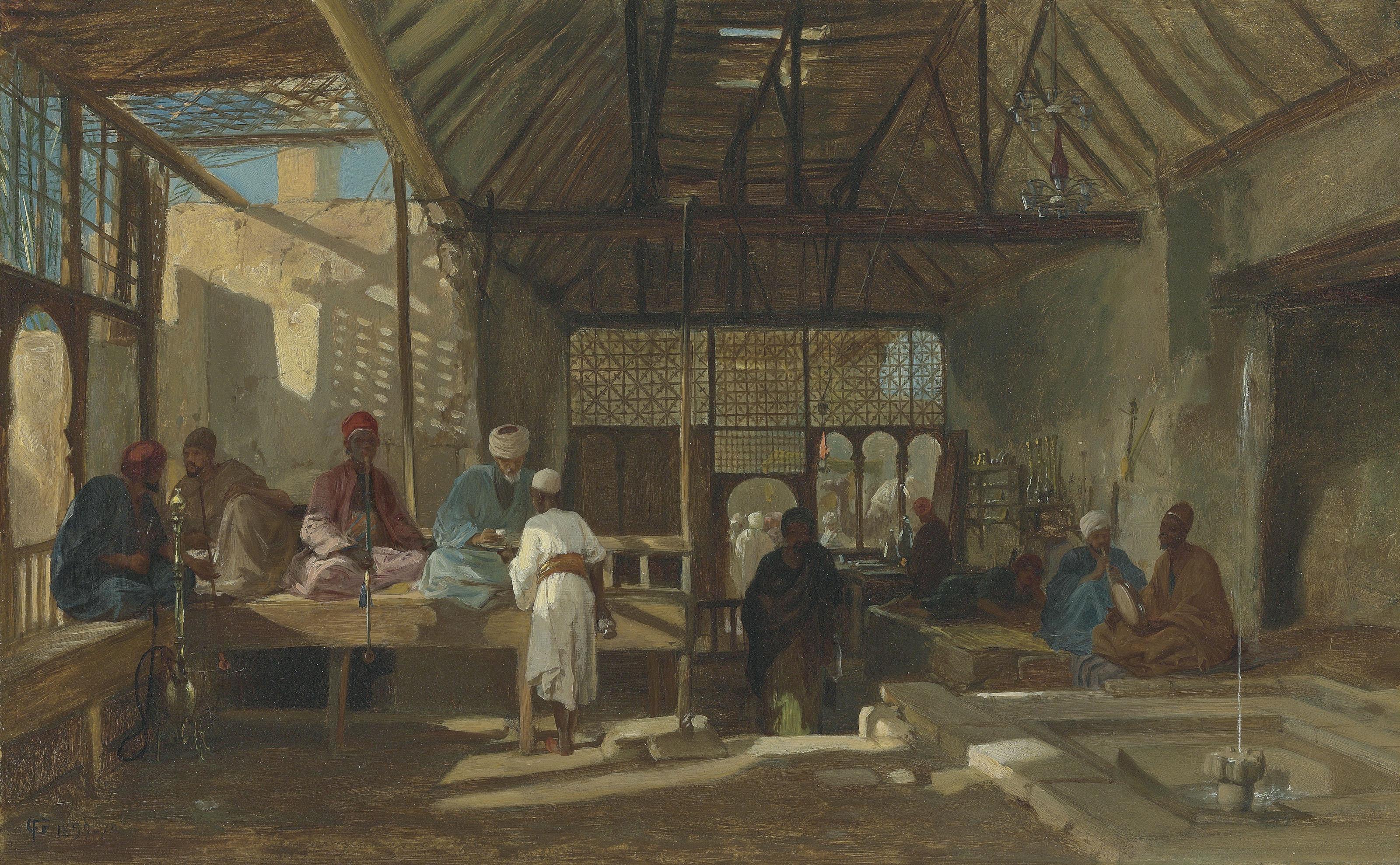 Frederick Goodall (British, 1822-1904)