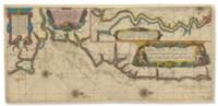 BLAEU, Willem Janszoon (1588-1664). Ware afbeeldinge der Zeecusten van Engelant gelegen tußchen Doveren en Iarmuijen ... Riviere van Londen. [Amsterdam: c.1608].