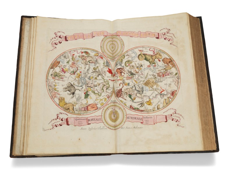 Johannes van Keulen (1654-1715), De Groote Nieuwe Vermeerderde Zee-Atlas ofte Water-Werelt,1688. Folio (535 x 314 mm). Sold for £395,250 on 5 June 2019 at Christie's in London