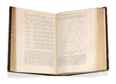 Einstein, Albert (1879-1955). 'Die Grundlage der allgemeinen Relativitätstheorie' (first printing of Einstein's general theory of relativity) in Annalen der Physik, IV. Folge, volume 49, pp.[769]-822. Leipzig J.A. Barth, 1916. Estimate £2,500-3,500. Offered in Important Scientific Books from the Collection of Peter and Margarethe Braune on 9 July 2019 at
