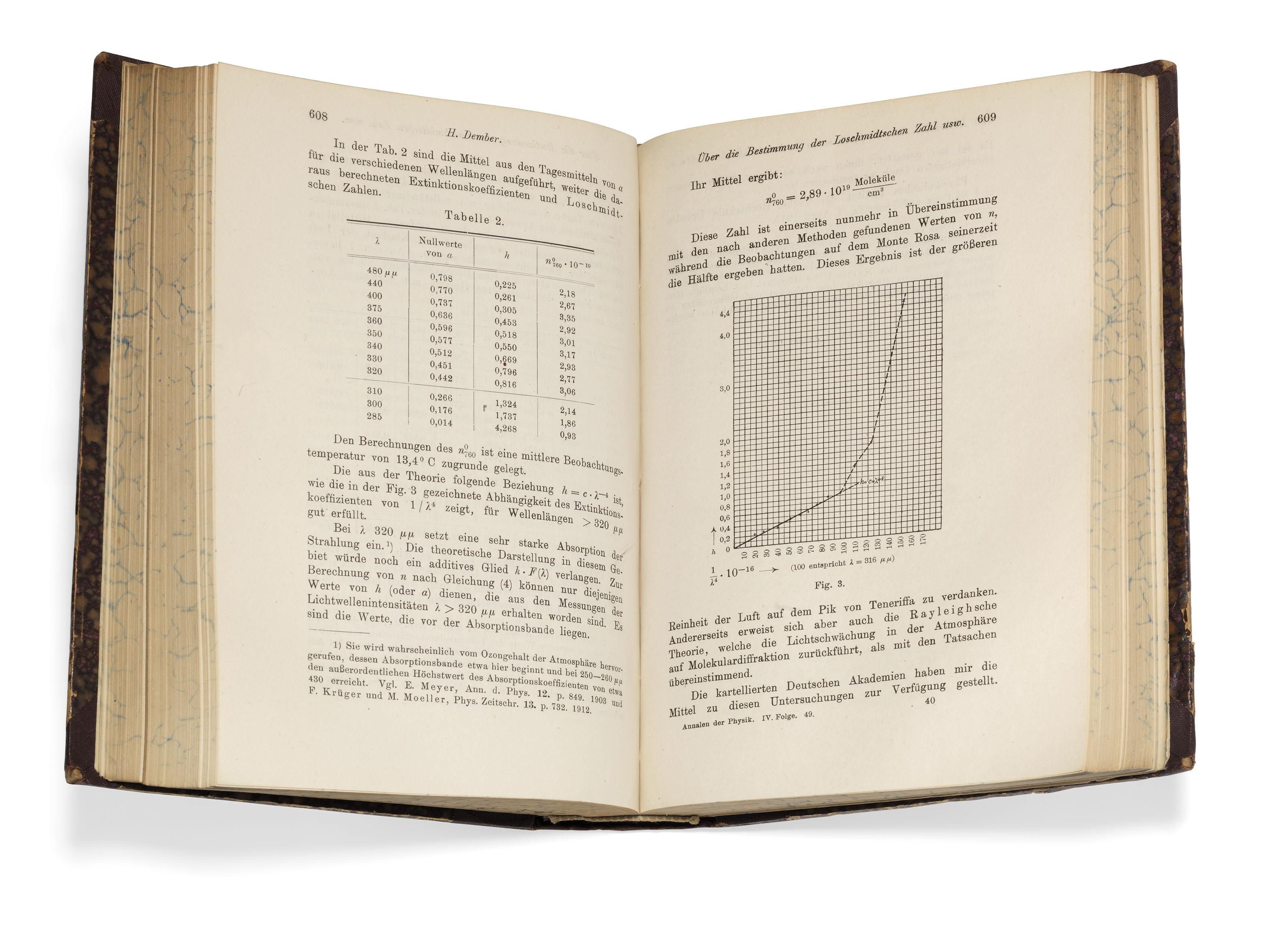 EINSTEIN, Albert (1879-1955). 'Die Grundlage der allgemeinen Relativitätstheorie', in: Annalen der Physik, IV. Folge, volume 49, pp.[769]-822. Leipzig: J.A. Barth, 1916.