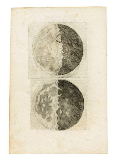 Galileo Galilei (1564-1642) Sidereus Nuncius. Venice, 1610 (231 x 158mm). Estimate £300,000-500,000. Offered in Important Scientific Books from the Collection of Peter and Margarethe Braune on 9 July 2019 at Christie's in London