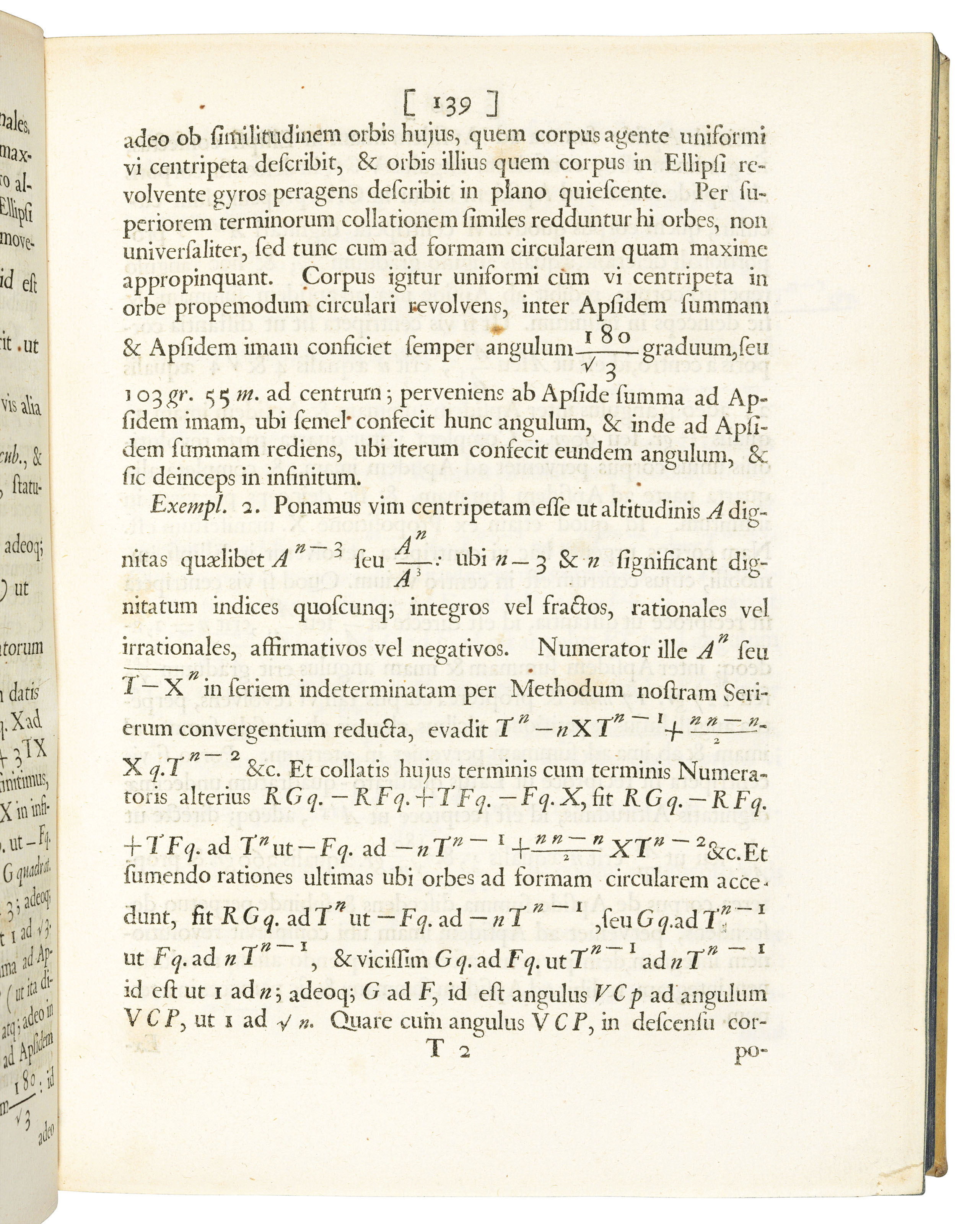 NEWTON, Sir Isaac (1642-1727). Philosophiae naturalis principia mathematica. Edited by Edmond Halley (1656-1743). London: Joseph Streater for the Royal Society [at the expense of Edmond Halley], to be sold by various booksellers, 1687.