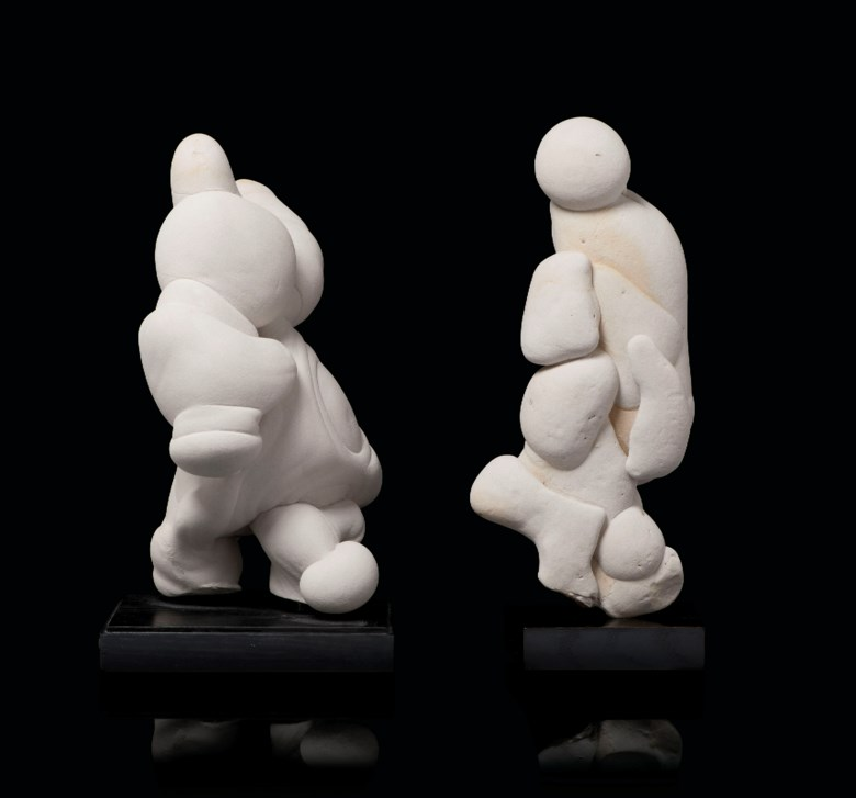 A pair of gogottes, Fontainebleau, France. 16¾ in (42.5cm) high. Sold for £20,000 on 7 November 2019 at Christies Online