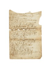 [SHAKESPEARE, William] Manuscr