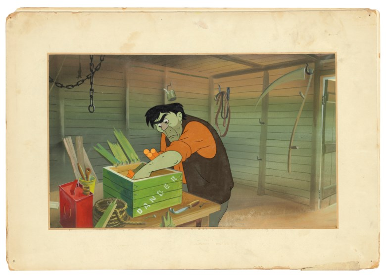 History of Cinema. Animal Farm (1954), an animation archive from the Halas and Batchelor studios, [c. 1954]. Estimate £20,000-30,000. Offered in Valuable Books & Manuscripts on 11 December 2019 at Christie's in London