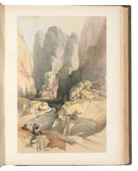 ROBERTS, David (1796-1864, artist) and George CROLY (1780-1860). The Holy Land, Syria, Idumea, Arabia, Egypt & Nubia. London: F.G. Moon, 1842-1849.