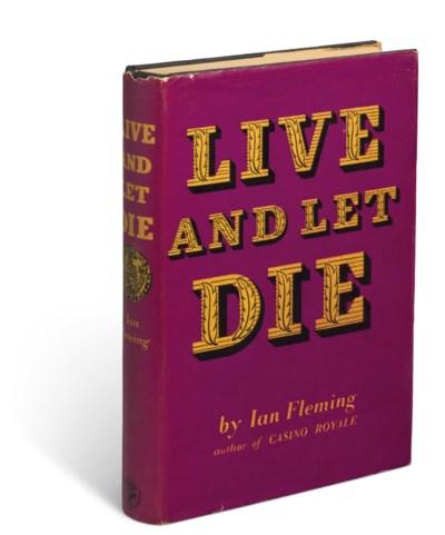 FLEMING, Ian (1908-1964). Live