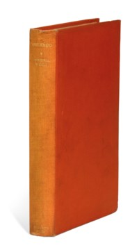 WOOLF, Virginia (1882-1941).Orlando. London: The Hogarth Press, 1928.