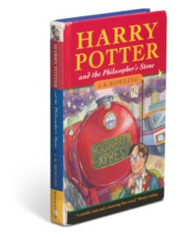 ROWLING, J.K. (b. 1965).Harry Potter and the Philosopher's Stone. London: Bloomsbury, 1997.