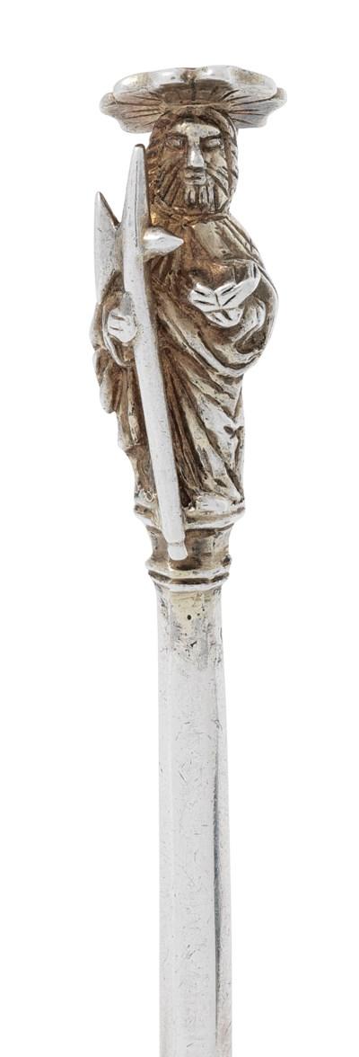 A HENRY VIII PARCEL-GILT SILVE